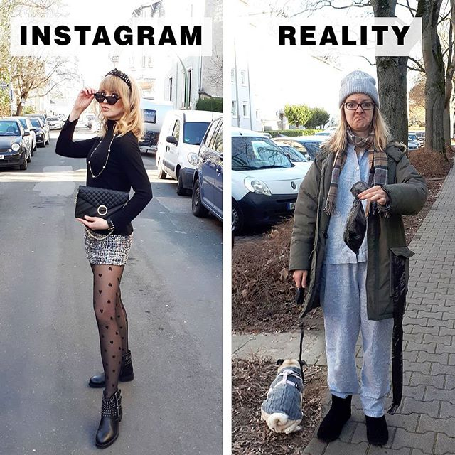 Instagram vs Reality
